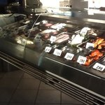 amazing display of fresh fish