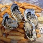 fresh oysters $2 each