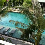 pool view from room