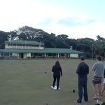 Lord Howe barefoot bowling!