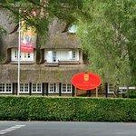 Hotellet från vägen