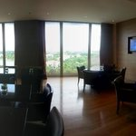 The 6th floor lounge (mid afternoon)