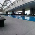 Mid afternoon, and still the whole 30m pool to myself