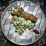 Moroccan Spiced Beef Kebab