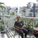 Balcony of penthouse