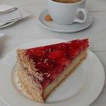Delightful strawberry cake