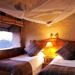 There are 2 bedroom and 3 bedroom options available at Lokuthula Lodges