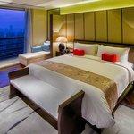 Chairman's suite bedroom