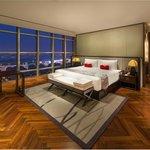 Infinity suite bedroom