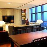 Infinity suite living room
