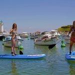 Paddle à Sauzon - Belle ile en mer