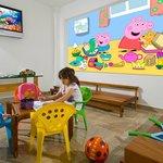La sala per i bambini