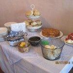 St Anne's Guest House cream tea!