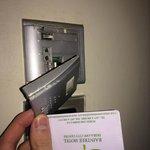 Card holder falling apart