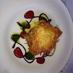 Sea bass in potato crust ( best ever!)
