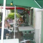 Alfresco Dining at La Palerme