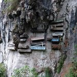 """The Cliff Limestone Hanging Coffins"""