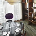 Hansar Bangkok Loft Suite Dining Area