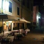 la terrasse dans la ruelle