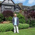 Speke Hall and garden.