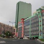 高い建物がホテル