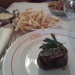 filet boeuf + frittes