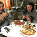 Best pizzas we have had, base is perfect and extensive pizza menu.