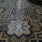 мозаика на полу внутри Собора