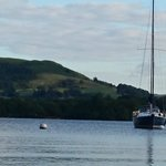 Maddie Too moored just off Low Wray