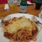 vegetarische volkorenspaghetti