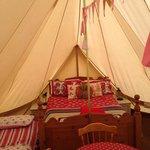 Emperor Tent Inside