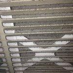 DIRTY air return grille
