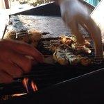 I deliziosi involtini di pesce spada!!!