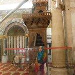 Inside the Al-Aqsa Mosque