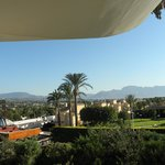 vistas desde la terraza bloque III