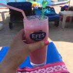Strawberry milkshake mmm