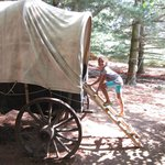 Covered Wagon: Little House on the Prairie