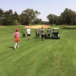 Le golfe. Premier 9 trous pour des débutants !