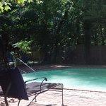 Pool side at Cooper's Landing.