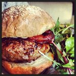 The hampshire arms burger!