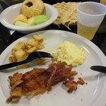 petit déjeuner à volonté