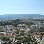 Vista su Atene