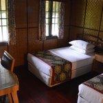 Bedroom Mutiara Taman Negara Cabin Suite