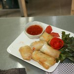 Our First Asian Dish - Spring Rolls