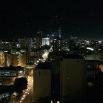 Night View from top floor room towards CBD