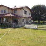 Hacienda style home