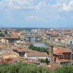 vue de la Piazzale Michelangelo