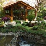 Zen Gazebo in Gardens
