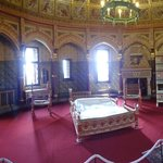 Lady Bute's bedroom at Castell Coch