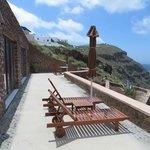 Anastasis Villa private terrace